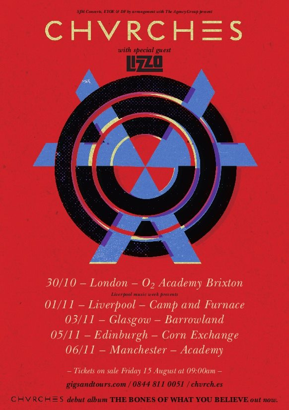 chvrches uk tour