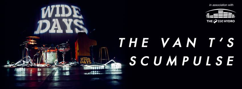 Wide Days 2016 – Showcase 3 – The Van T's + Scumplulse – Electric Circus