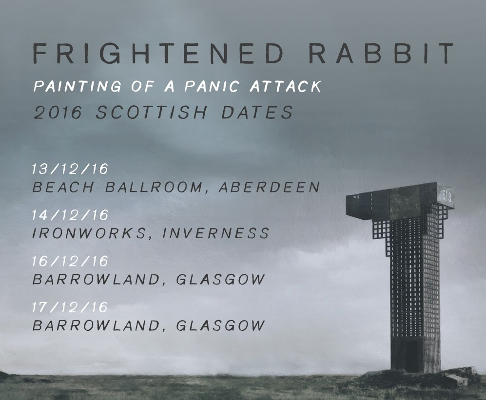 Frightened Rabbit Announce Scottish Dates