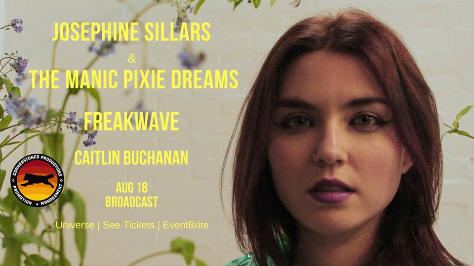 Josephine Sillars & The Manic Pixie Dreams – Is It Love? – Premiere + Launch News