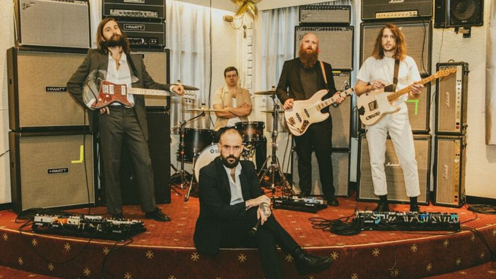 "IDLES announce new album ""Ultra Mono"" + share video for new single ""Grounds"""